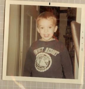 Vincent Truman, age 3